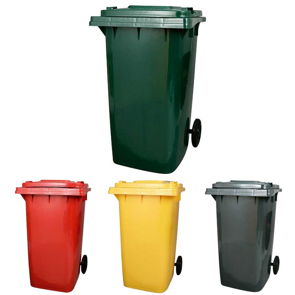 業務用にもおすすめのビッグなダストボックス。屋外使用も可能。 ダストボックス ゴミ箱 フタ付 ダルトン プラスチック トラッシュカン PLASTIC TRASH CAN 240L キャスター付 大型 業務用