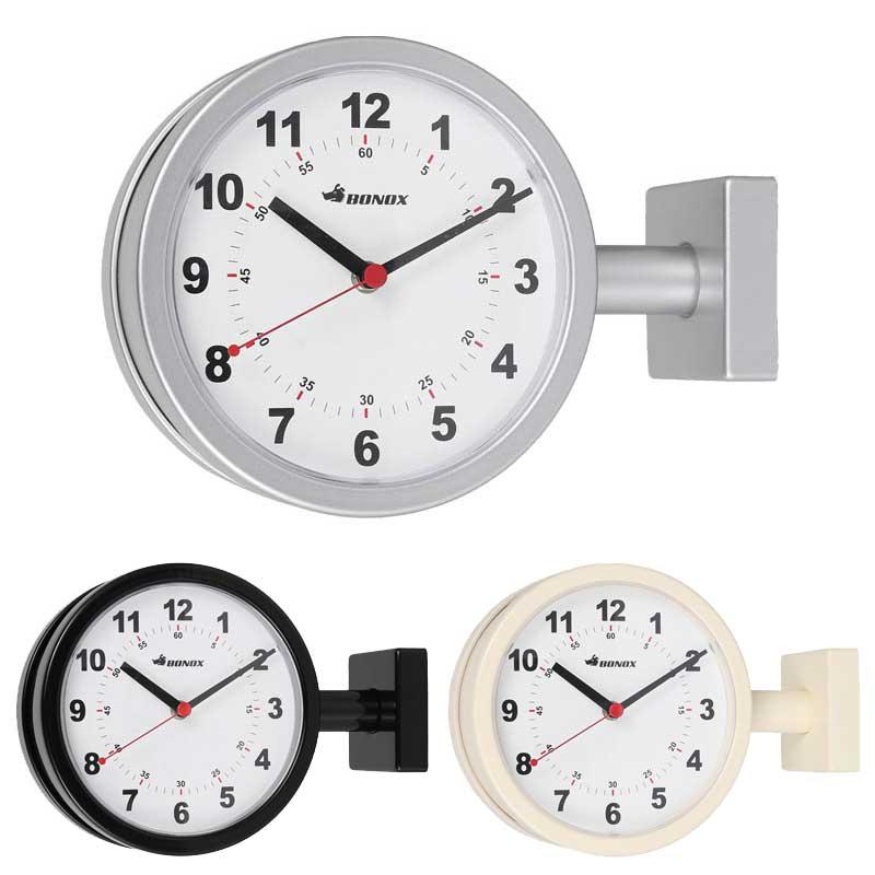 ウォールクロック 壁掛け時計 ダルトン DOUBLE FACE WALL CLOCK 170D ダブルフェイス ウォールクロック S624-659 両面時計タイプ