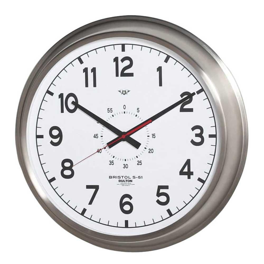 壁掛け時計 ダルトン ウォールクロック ブリストル S-51 直径52cm 大型タイプ シンプル レトロ アメリカンヴィンテージ調