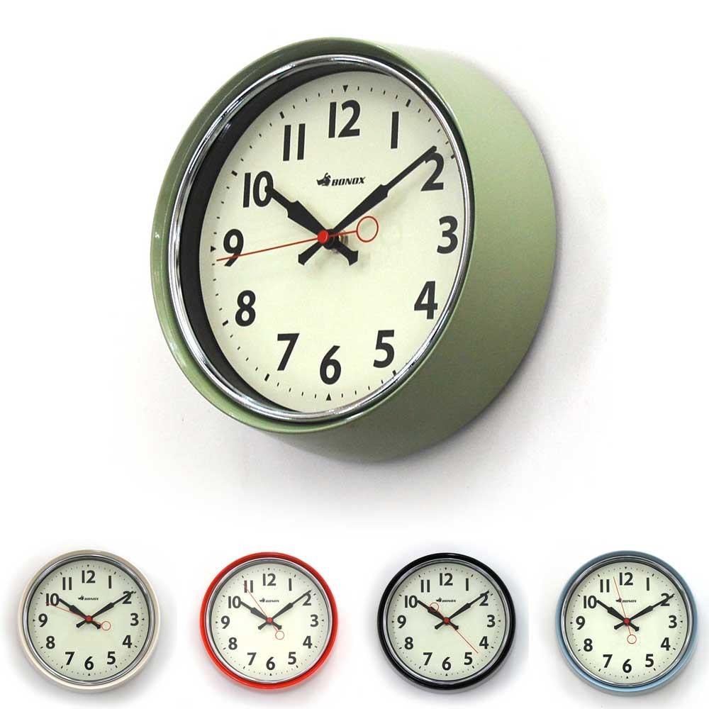 コンパクトでおしゃれ ヴィンテージな空間に似合うカラーリング 壁掛け時計 ダルトン ウォールクロック 超特価 S426-207 シンプル 直径21cm レトロ ☆最安値に挑戦 コンパクト アメリカンヴィンテージ調