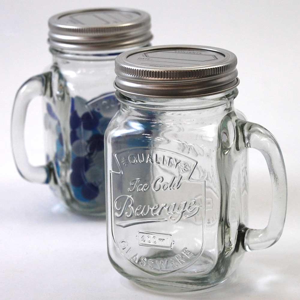 Dalton Mason a 'Glass jar with handle' (S515-314)