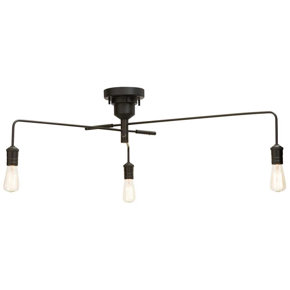 天井照明 シーリングライト Narost LED電球付 レトロ インダストリアル アンティーク風 ヴィンテージ調 LED電球対応