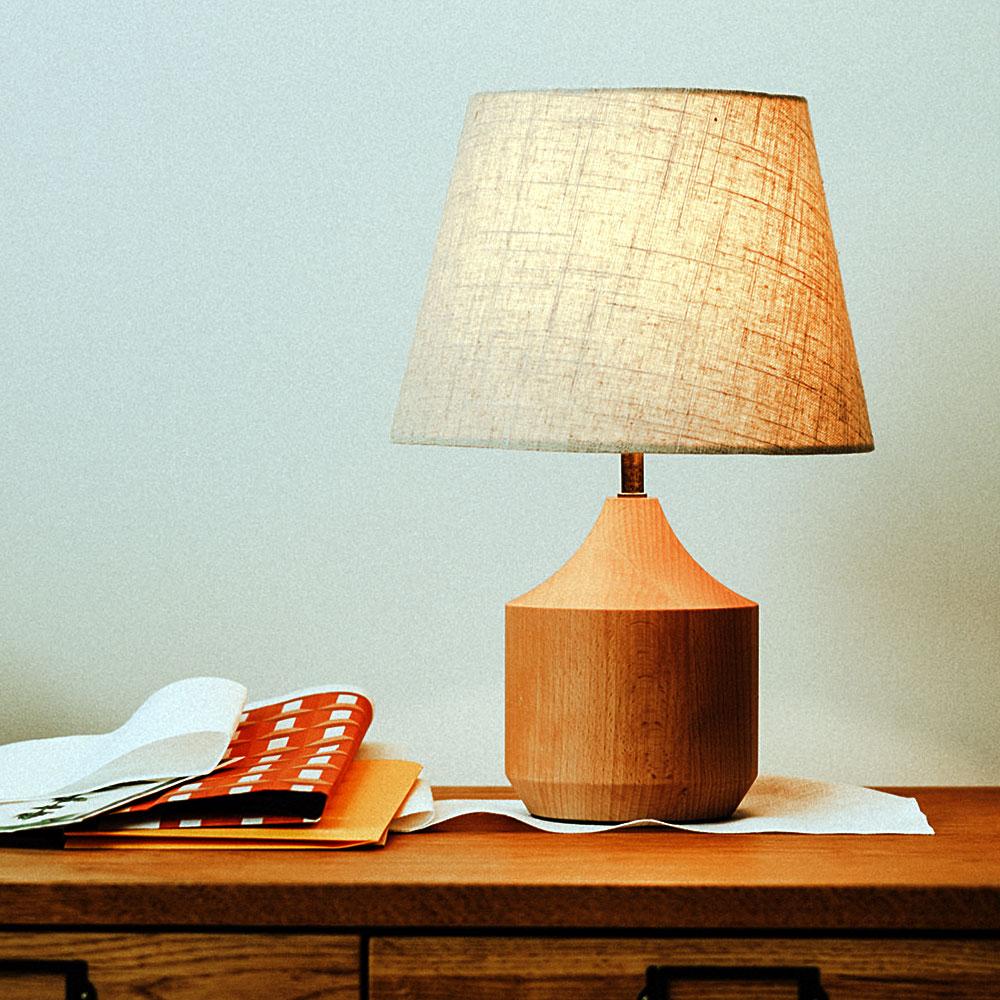 テーブルライト Tolsa 電球無しタイプ 木製 北欧 モダン