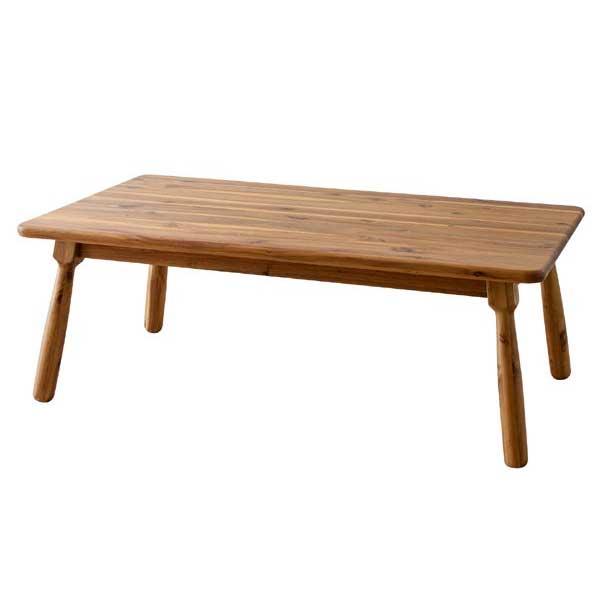 こたつテーブル KT-104N 長方形 105×60cmタイプ アカシア 北欧モダン ヴィンテージ調