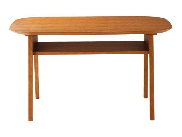 ダイニングテーブル LDテーブル JAM-LD テーブル 120×80cm 棚付 長方形 アメリカンチェリー 4人用 国産品 日本製