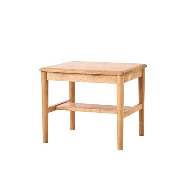 half off 18bde 3d4c3 Center table low table side table Terrace living table 50 Alder innocent  materials oil finish North Europe is modern