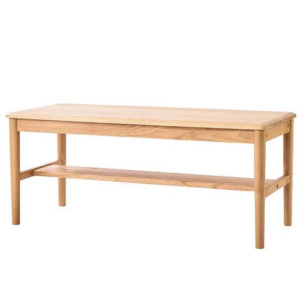 リビングテーブル100 Terrace (アルダー無垢材・オイルフィニッシュ)