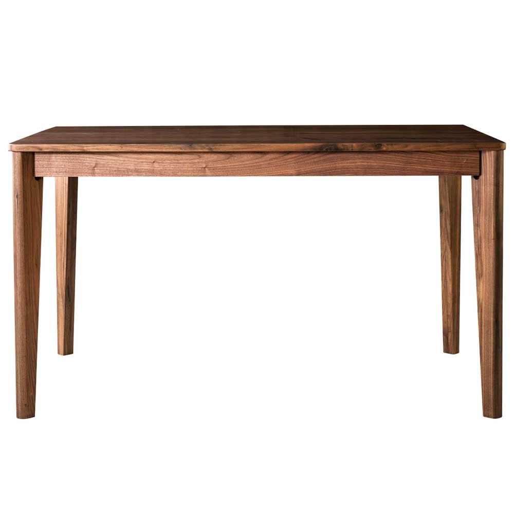 ダイニングテーブル meets 125 ウォールナット無垢材 125×75cm 2~4人用