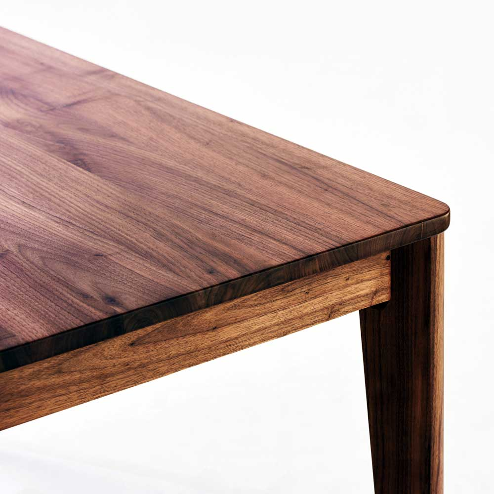meets dining five points set 140 (table 140cm *1 chair *4 walnut innocent materials, cover ring type)