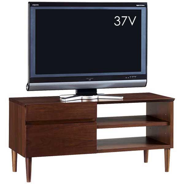 TVボード テレビボード レトロモダン TVボード100 収納付 ウォールナット シンプル 北欧モダン ミッドセンチュリー おしゃれ