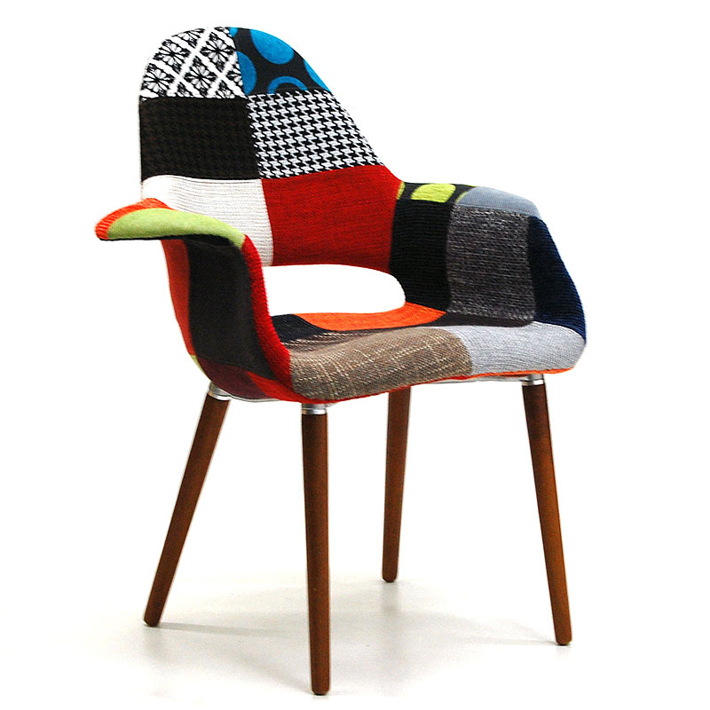 Organic Chair Patchwork Pattern (knock Down Type)
