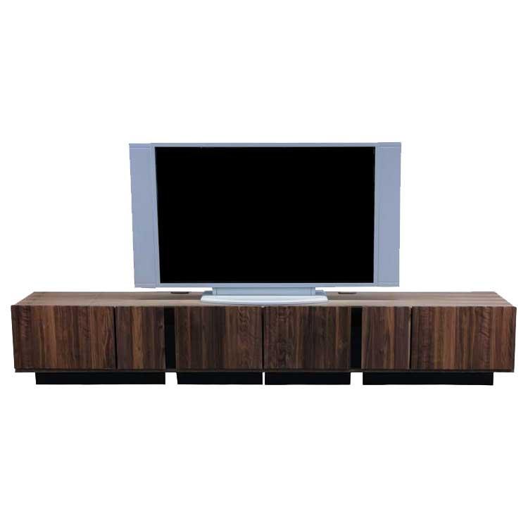 テレビ台 TVボード テレビボード AVボード ISOLA 230 ウォールナット天然木 北欧モダン