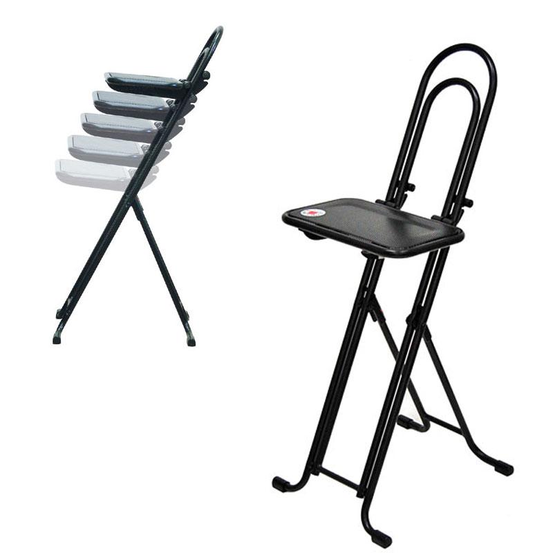 ワーキングチェア BEST WORK CHAIR ベストワークチェア 無段階座面高さ調整 折りたたみ可能 作業椅子 日本製 国産品