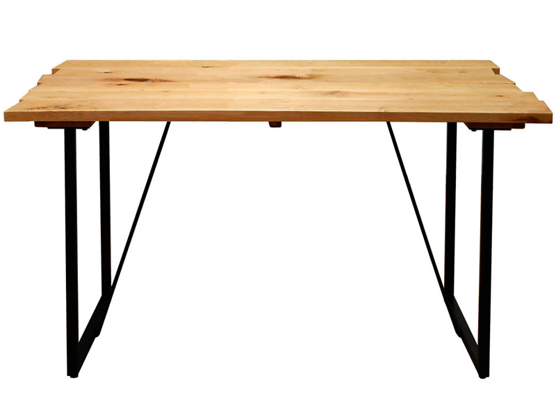 ダイニングテーブル サイズオーダー VIRGIN-SPEC. フルオーダーシステムテーブル 幅100~130×奥行80cm メープル無垢材