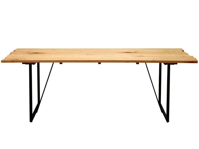 ダイニングテーブル サイズオーダー VIRGIN-SPEC. フルオーダーシステムテーブル 幅161~200×奥行80cm メープル無垢材