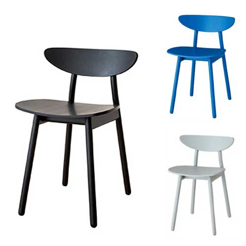 Cobrina dining chair TF201E (Hida Sangyo Kobrin Chair, color coating type)