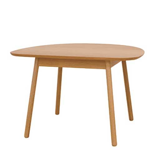 ダイニングテーブル 飛騨産業 コブリナ Cobrina TF330WP オーク材 天板89×80cmサイズ