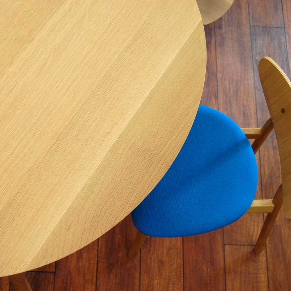 Cobrina Dining Table TF331WP (Hida Sangyo Kobrin) Baking Sheet 111 X 100 Cm  Size