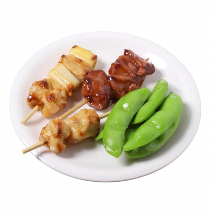 【メール便・ラッピング不可】食品サンプル屋さんのミニグルメ(焼き鳥セット)食品サンプル 雑貨 食べ物 ミニチュア インテリア