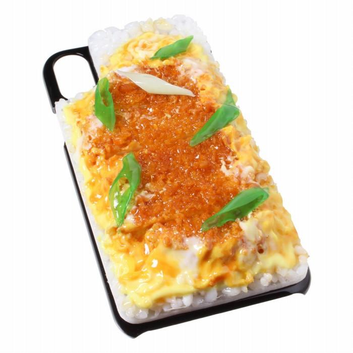 【メール便不可】食品サンプル屋さんのスマホケース(iPhone XS、iPhone XS Max、iPhone XR:カツ丼)食品サンプル iPhone ケース カバー 雑貨 食べ物 スマートフォン