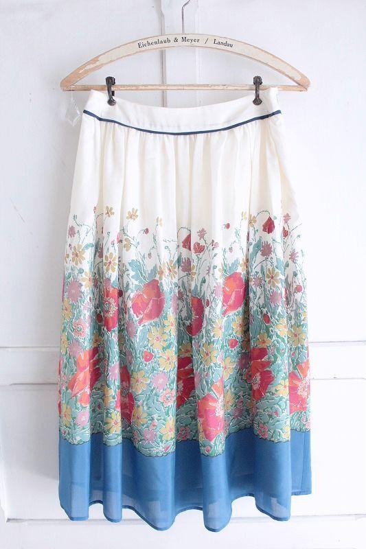 【送料無料】nesessaire〈ネセセア〉garden スカート