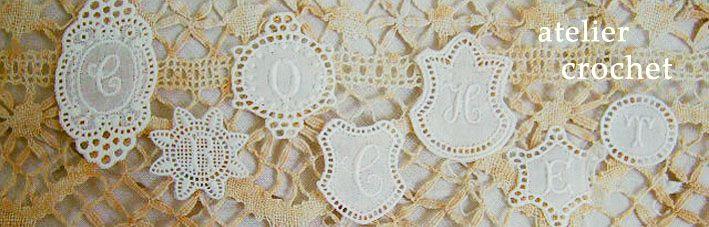atelier crochet:大人かわいいもの・何気ない毎日が少し楽しくなるものをセレクトしています