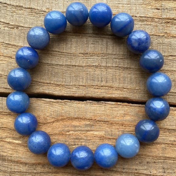 18%OFF パワーストーン ブルークォーツ 数珠 ブレスレット 10mm 5A 天然石 青水晶 プレゼント メンズ 期間限定特価品 レディース
