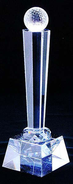 【クリスタルトロフィー|名入れ無料|t0001|トロフィーA】記念品_プレゼント・オリジナルギフト・贈り物・記念品・インテリア《noo(ヌー)》【楽ギフ_名入れ】