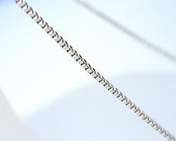 ベネチアンチェーン【K18WG】/45cm/0.9mmはば/フリーアジャスター