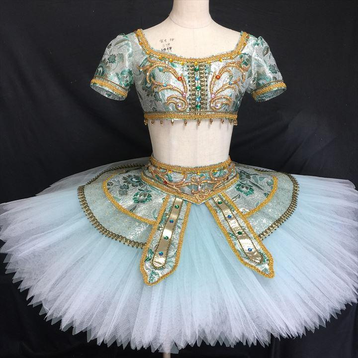 バレエ衣装レンタル クラシックチュチュ 135-2 チュチュレンタル ティアラ付き【レンタル】