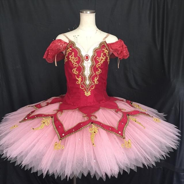 バレエ衣装オーダー 123 クラシックチュチュ