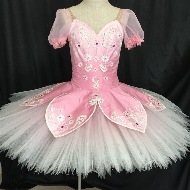 金平糖 オーロラ シルビア コッペリア ピンク 並行輸入品 国内即発送 バレエ衣装レンタル 132 チュチュレンタル クラシックチュチュ レンタル