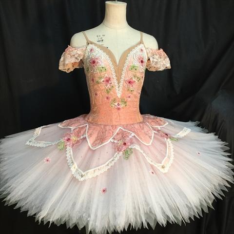 バレエ衣装オーダー 18 クラシックチュチュ