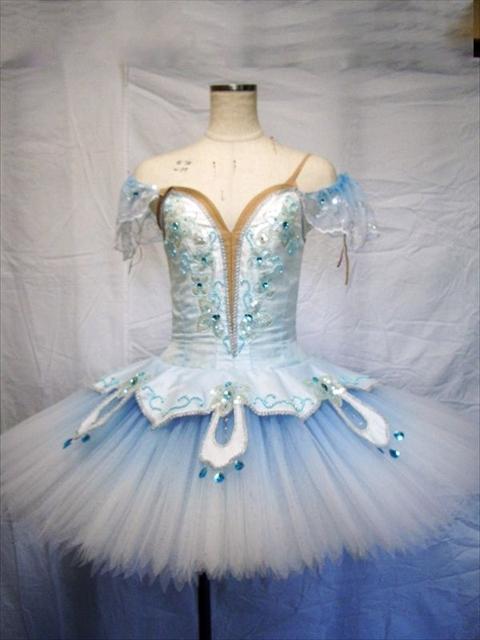 バレエ衣装オーダー 19 クラシックチュチュ
