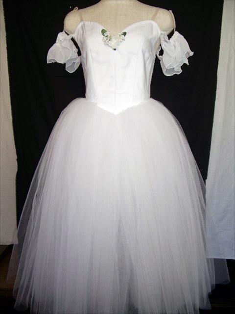 バレエ衣装オーダー2 ロマンチックチュチュ