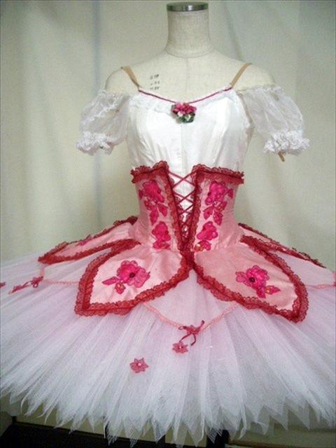 バレエ衣装レンタル クラシックチュチュ 26 チュチュレンタル 【レンタル】