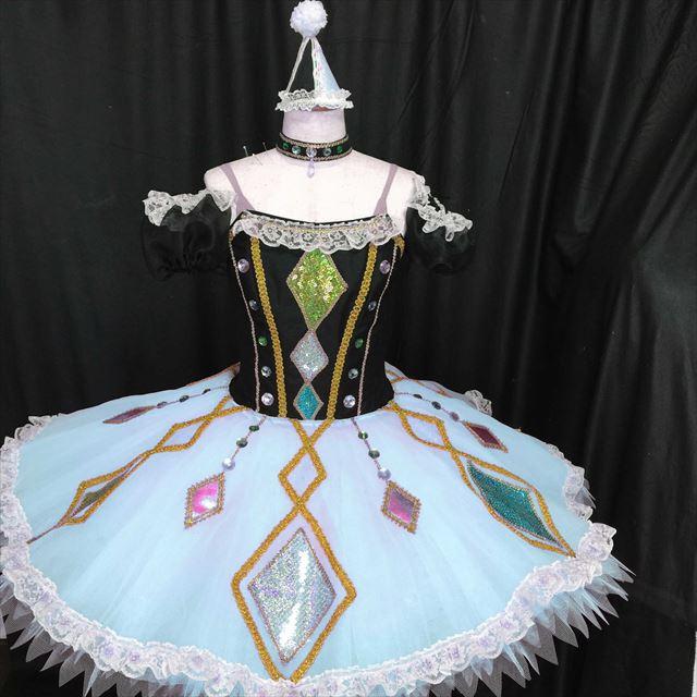 バレエ衣装オーダー 118 クラシックチュチュ アレキ アーレキナーダ