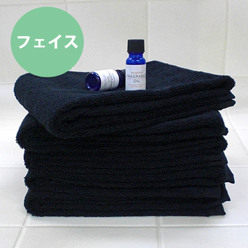 ◆ 02P24Jun11 made in super high durability two-ply yarn volume face towel * dandy black * ◆ antibacterial deodorization Japan for the use of hotel type hardware