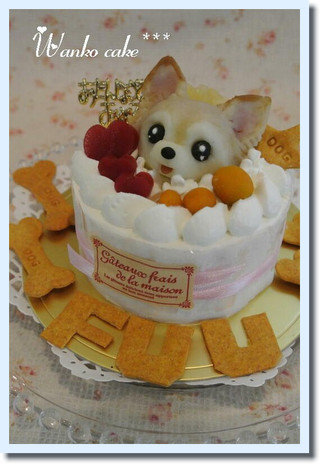 愛犬をモチーフにしたオリジナルなケーキをお作りします ワンちゃん用フルーツデコレーションケーキです 犬用ケーキ お名前のアルファベットクッキー付き ワンコケーキ 誕生日 フルーツデコレーションケーキ S 今季も再入荷 犬ケーキ いよいよ人気ブランド