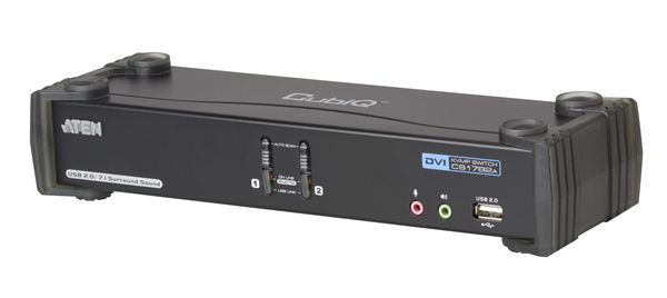 【送料無料】【3年保証】ATEN 2ポートDVI Dual Link対応 CPU切替器 【CS1782A】