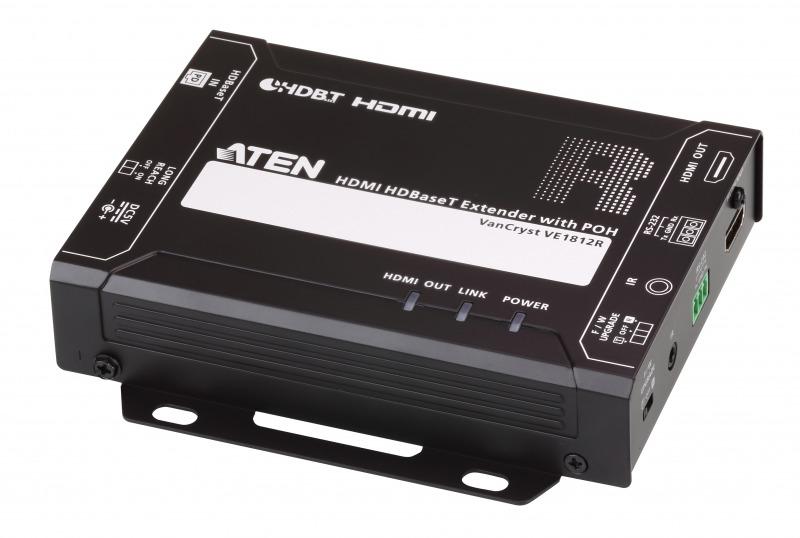 【送料無料】【3年保証】HDMIツイストペアケーブルエクステンダー(4K対応POHタイプ)【VE1812】