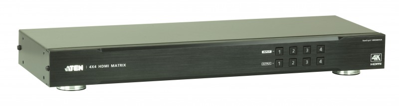 【送料無料】【3年保証】4入力4出力HDMIマトリックススイッチャー(4K対応)【VM0404HA】