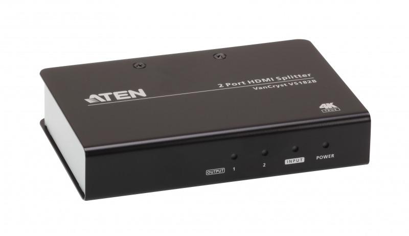 【送料無料】【3年保証】HDMI 2分配器(True 4K対応)【VS182B】