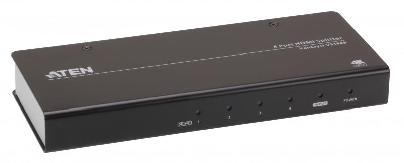 【送料無料】【3年保証】HDMI 4分配器(True 4K対応)【VS184B】