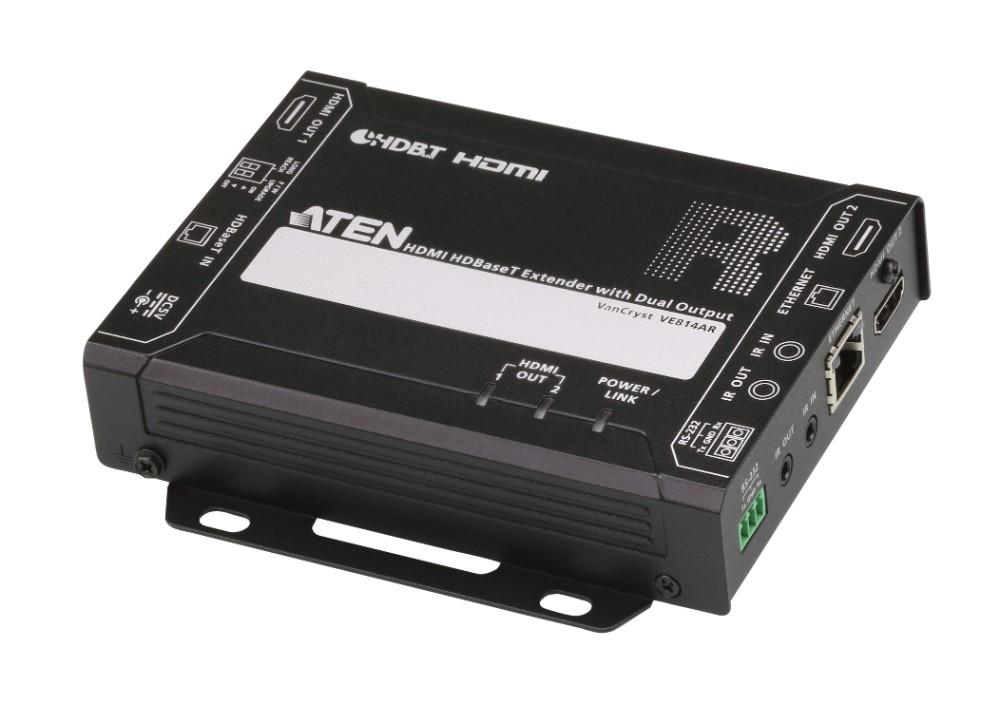 【送料無料】【3年保証】HDMIツイストペアケーブルレシーバー(リモート2出力対応)【VE814AR】