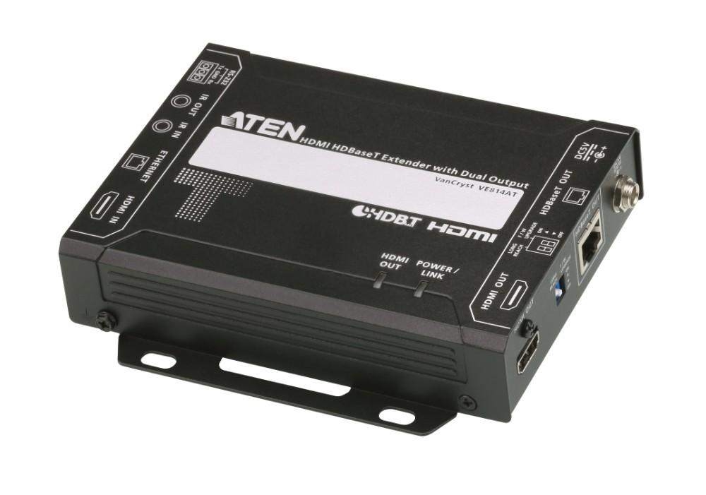 【送料無料】【3年保証】HDMIツイストペアケーブルトランスミッター(リモート2出力対応)【VE814AT】
