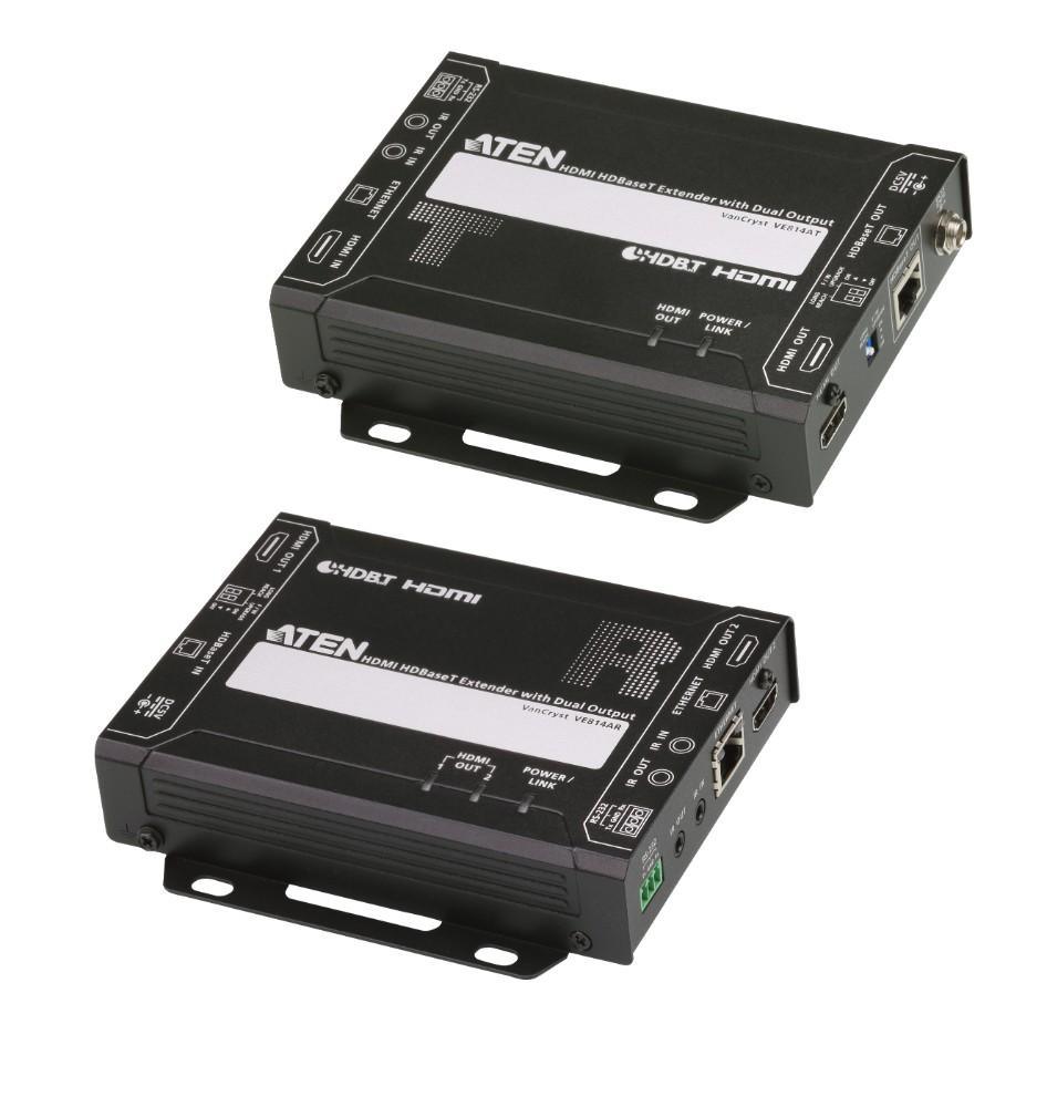 【送料無料】【3年保証】HDMIツイストペアケーブルエクステンダー(リモート2出力対応)【VE814A】