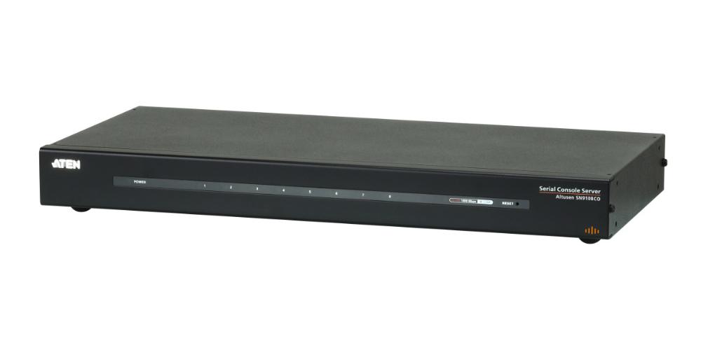 ATEN 8ポートシリアルコンソールサーバー(シングル電源/LAN対応モデル)SN9108CO【送料無料】【3年保証】