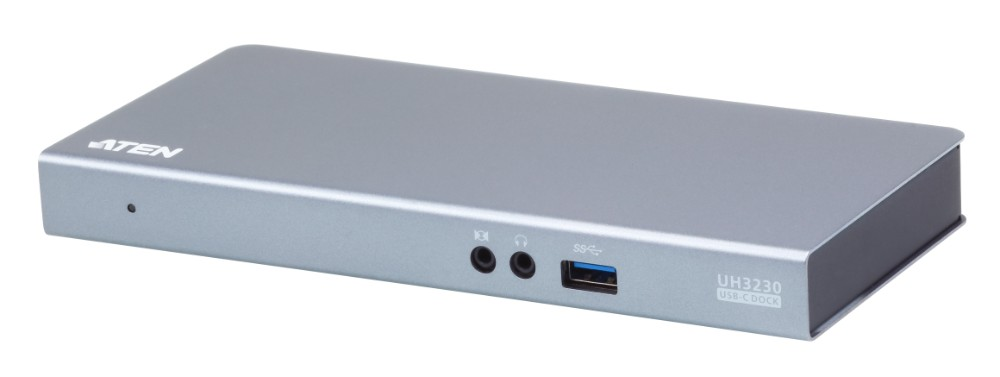 【送料無料】【3年保証】USB-C マルチポートドッキングステーション(充電機能搭載) UH3230【8 in 1 USB-C:USB-C×2 (PD対応×1) DisplayPort/HDMI USB3.1(BC1.2対応) ギガビットLAN ミニステレオジャック×2(入出各1)】