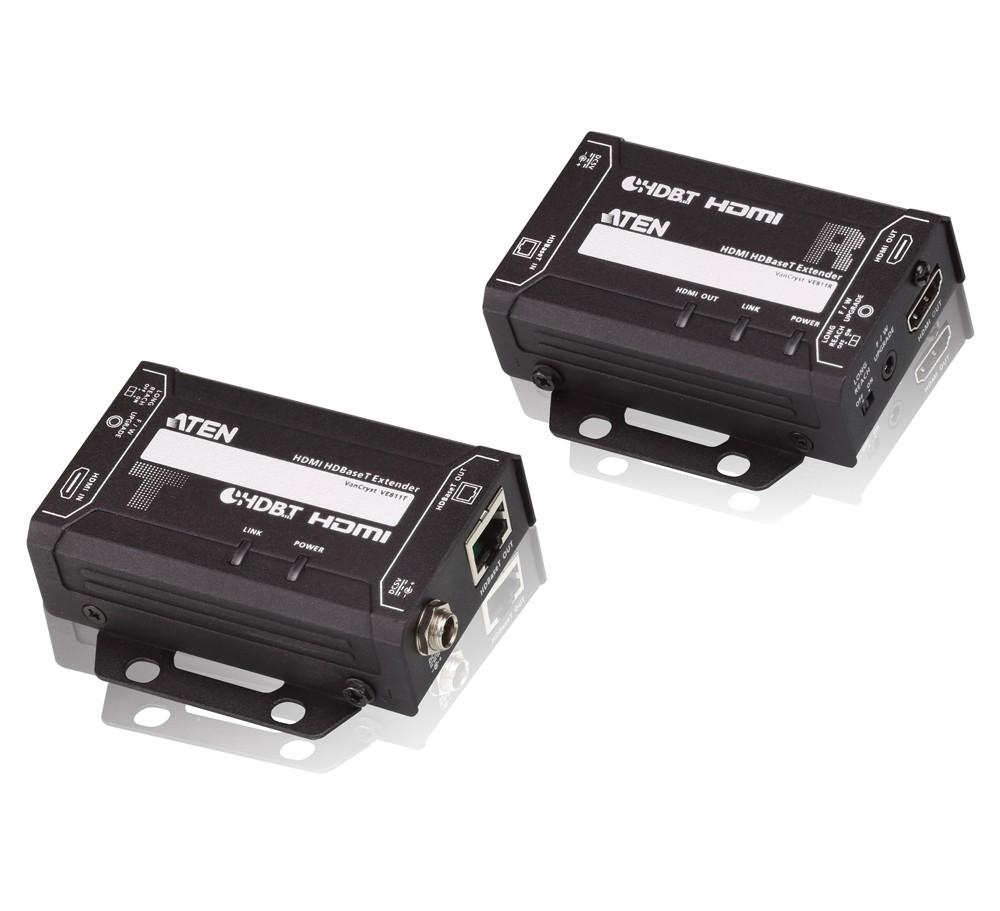 【送料無料】【3年保証】HDMIツイストペアケーブルエクステンダー(4K対応)【VE811】